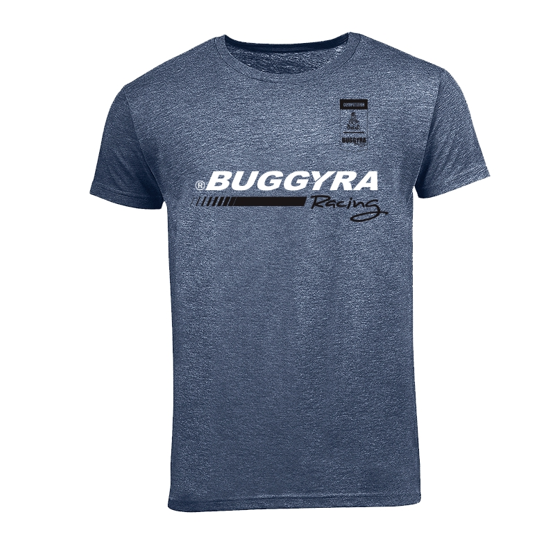Tričko pánské pruh a nápis Buggyra