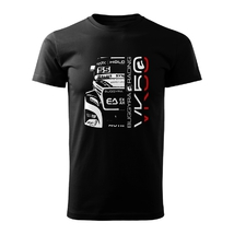 T-shirt Buggyra VK 50 black sound